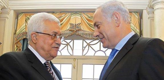 Netanyahu, Abbas  picture: Reuters